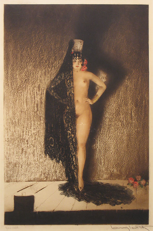 Illustrations and Etchings by Louis Icart Art Deco Artist