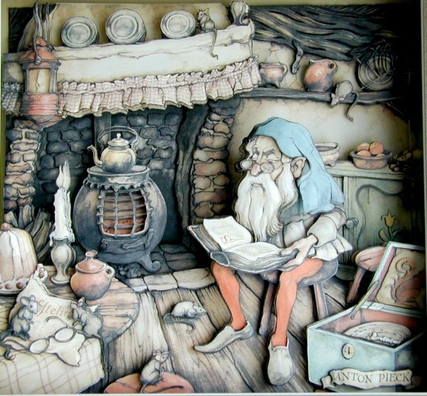 Art of  Anton Pieck Dutch Artist