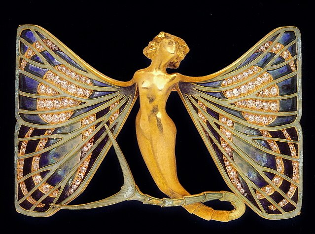 Art Nouveau Artists, Lalique Jewelry