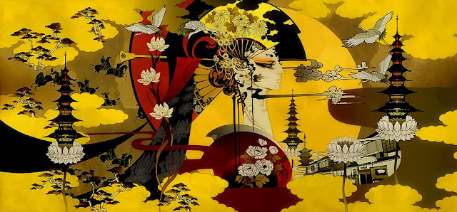 Paintings by Aya Kato Japanese Artist