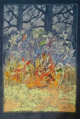 Batik Art of Polish Artist Ada Florek