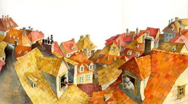 children's books Illustrations by Russian artist Olga Ionajtis