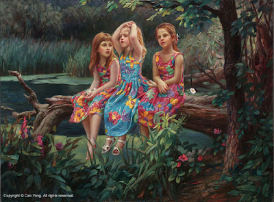 Oil Paintings by Cao Yong American Artist