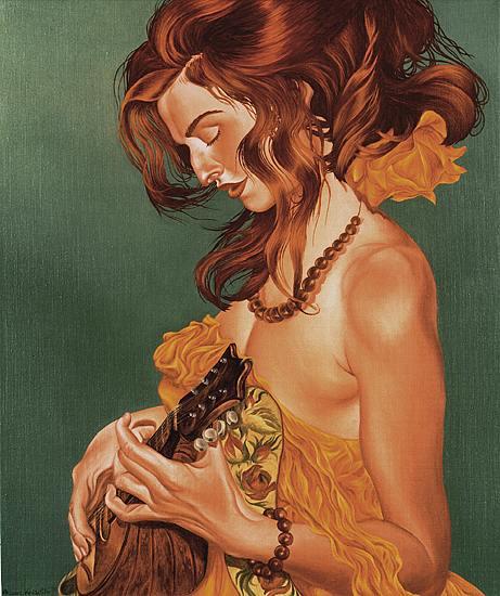Ariane Krischke,German artist,figurative painting
