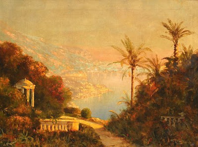Alois Arnegger. The Bay of Naples