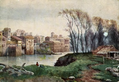 Ettore Roesler Franz. San Salvatore in Lauro in Rome