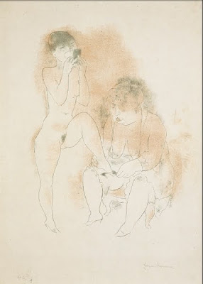 Jeanne Mammen. Making Up