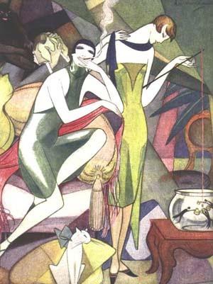 Jeanne Mammen, German artist,Weimar era artist, graphics,