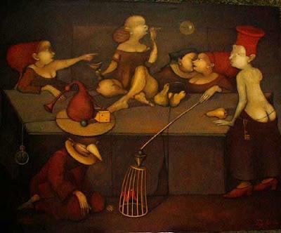Taguhi Barsegian's painting