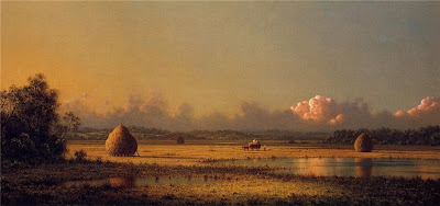 Martin Johnson Heade. Hayfields: A Clear Day