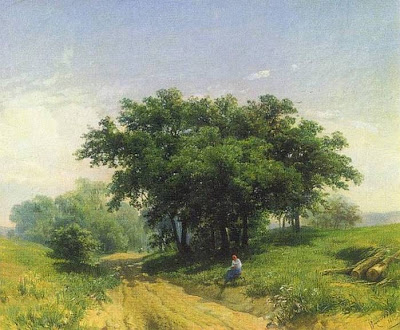 Fedor Vasiliev. Hot Summer Day, 1869