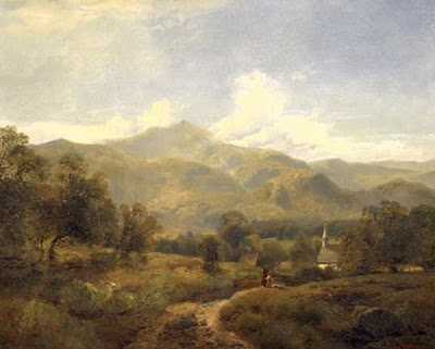 Edmund Darch Lewis. Oil Painting