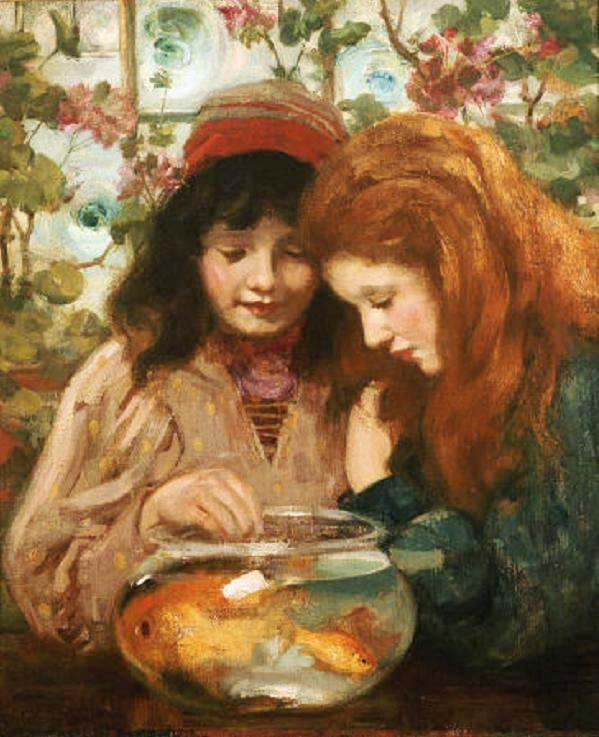 William Stewart MacGeorge, Goldfish in Painting