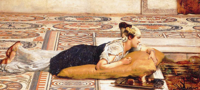 Sir Lawrence Alma-Tadema paintings, Goldfish in Painting