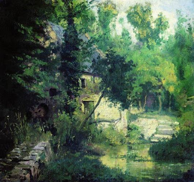 Oil Painting by Vasily Polenov