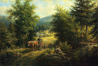 Edward Lamson Henry's Oil Painting