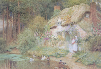 Arthur Claude Strachan. The Duck Pond