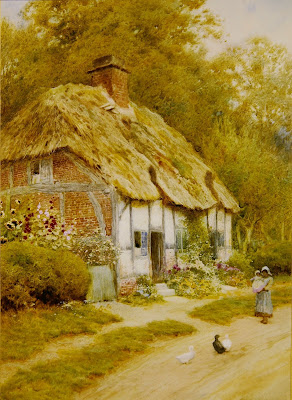Painting by Arthur Claude Strachan