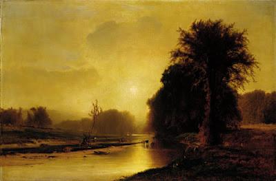 George Inness' Autumn Meadows