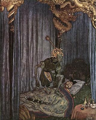 Edmund Dulac. The Nightingale
