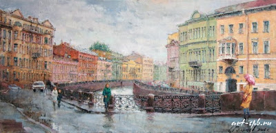 St Petersburg. Painting
