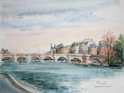 Daniel Chamaillard. Watercolors