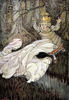 Elenore Abbott's Illustration for White Queen Flying