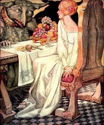 Elenore Abbott's Illustration for The Beauty and the Beast