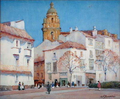 Albert Moulton Foweraker's Watercolor