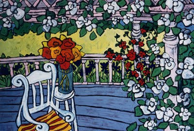 Laurie Zeszut. On the Porch
