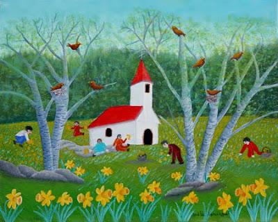 Noelle Demangeat, Naive Paintings