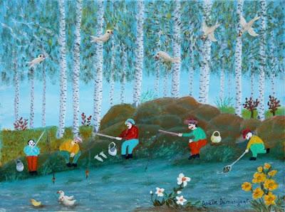 Noelle Demangeat's Naive Painting
