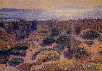 Henri Edmond Cross. Plage de la Vignassa, 1892