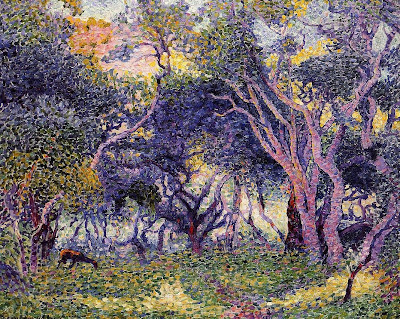 Henri Edmond Cross. Undergrowth, 1907