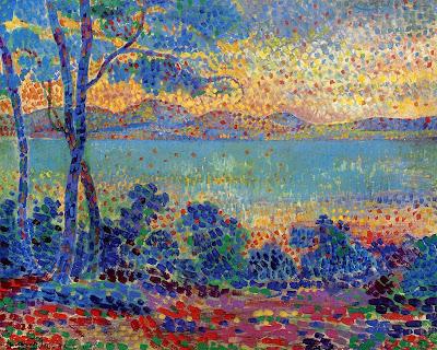 Henri Edmond Cross. Provence Landscape, 1900