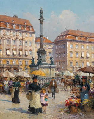 Detlev Nitschke. Watercolor. Vienna