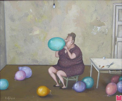 Valentin Gubarev's Paintings. Dolce Vita