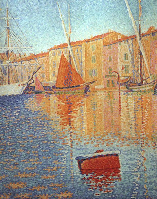 Paul Signac. Harbour at St. Tropez