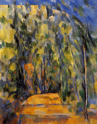 Paul Cezanne. Bend in the Forest Road