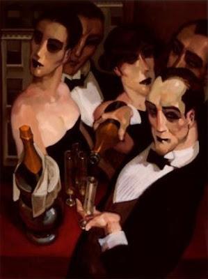 Juarez Machado. Champagne Waiter