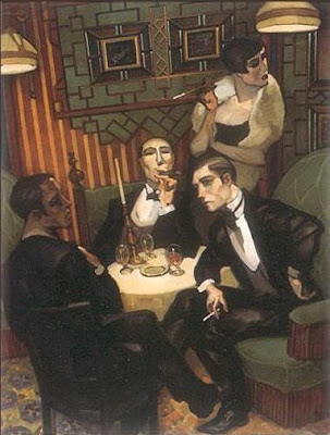 Juarez Machado. Cigar, Cognac in the Salon