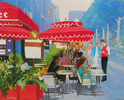 Oil Painting by French Artist Georges Blouin. Pub