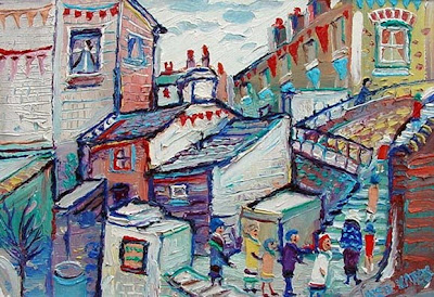Fred Yates. A Northern Back Yard, Leeds