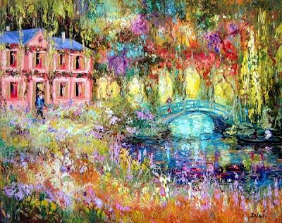 Duaiv. Japanese Bridge Chez Monet