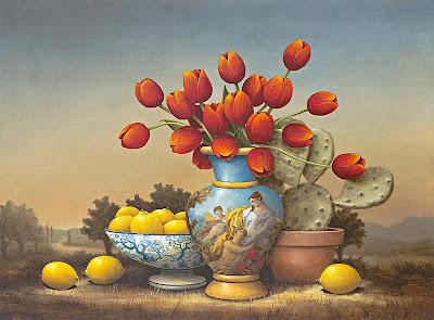 Fine Art Painting. Artist Kevin Sloan