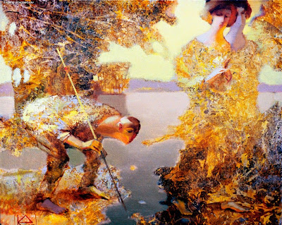 Paintings of Russian Artists. Evgeny Kouznetsov