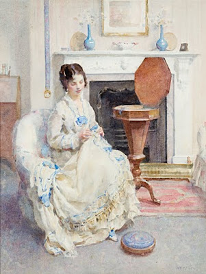 Walter Ernest Webster. Sewing Box