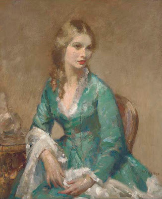 Walter Ernest Webster. Portrait of a Lady