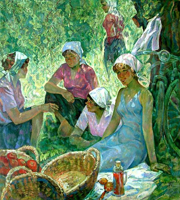 Russian Paintings of Soviet Period