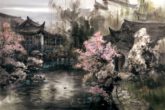 Zhao Wuchao. Chinese Landscape Painting ~ Blog of an Art ...